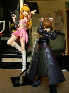 Kaiyodo Revoltech Fraulein Miki Hoshii