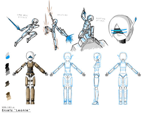 VES-101-x/a1 Leonie Schmidt character sheet