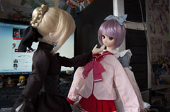 Azone ToHeart2 Dollfie Clothes