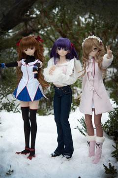 White Track - Arturia, Rina and Sakura